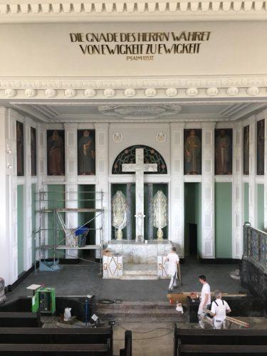 Friedenskirche Aue Zelle Referenz Maler Reichenbach 5