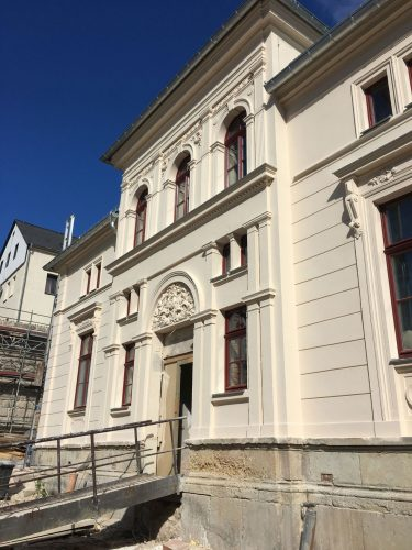 Maler Reichenbach Fassadensanierung Fassadenanstrich Altbausanierung Vogtland Zwickau 01