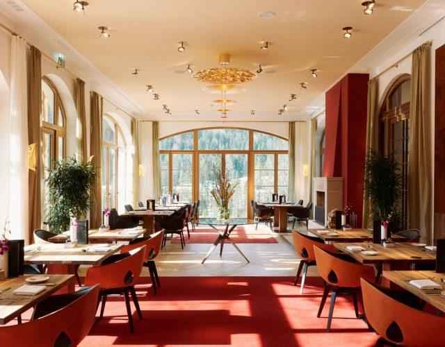 Maler Reichenbach Referenz Elmau Restaurant 2