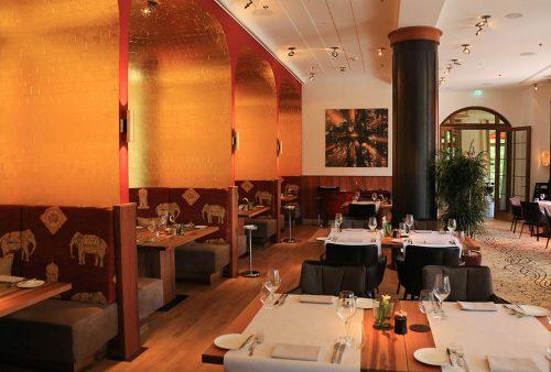 Maler Reichenbach Referenz Elmau Restaurant Goldmuscheln